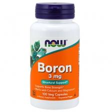 NOW Boron 3 mg 100 caps