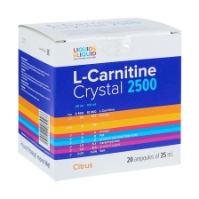 LIQUID & LIQUID L-Carnitine Crystal 2500 25ml (amp) 1шт