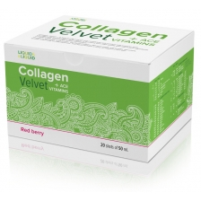 LIQUID & LIQUID Collagen Velvet + ACE Red berry 20x50 ml