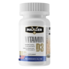 Maxler Vitamin D3 1200 IU 180 tabs