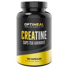 OptiMeal Creatine Monohydrate 750mg 120 caps