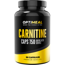 OptiMeal L-Carnitine Blend (acetyl, base, tartrate) 750mg 90 caps