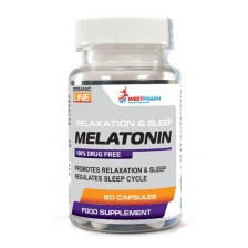 WestPharm Melatonin 5mg 60caps