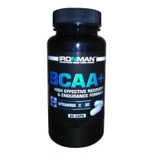 IRONMAN BCAA+ 60 caps.