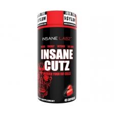 Insane Labs Cutz 45 caps (жиросжигатель)