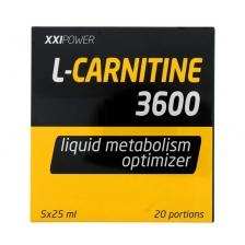XXI POWER Л-Карнитин 3600 (5 флак. х 25 мл)