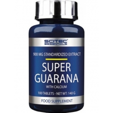 Scitec Essentials Super Guarana 100t