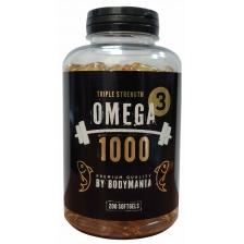 BODY MANIA OMEGA-3  (200 софтгель капс)