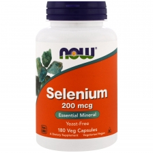 NOW Selenium 200mkg 180caps