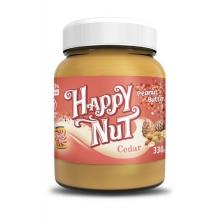 Happy Nut Кедровая паста  с арахисом 330гр