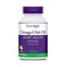 NATROL Omega 3 1000 mg 60 softgels
