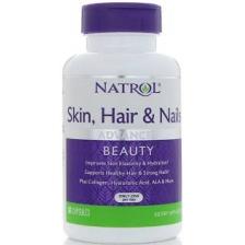 NATROL Skin-Hair-Nails w/ Lutein Cap-60