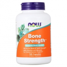 NOW BONE STRENGTH CAPS 120