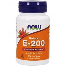 NOW E-200 DA 100 softgel