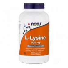 NOW L-Lysine 500 mg 250 caps