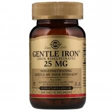 Solgar Gentle Iron 25 mg 180 veg caps