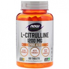 NOW L-Citruline 1200 mg 120 caps