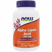 NOW Alpha Lipoic Acid 100 mg 120 caps
