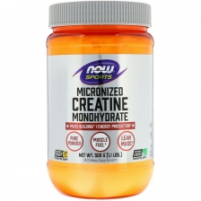 NOW Creatine Monohydrate Micronized 500 g