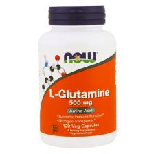 NOW L-Glutamine 500 mg 120 caps
