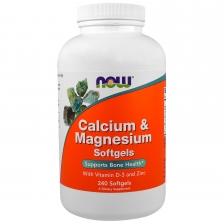 NOW Calcium-Magnesium+D+Zinc 240 caps