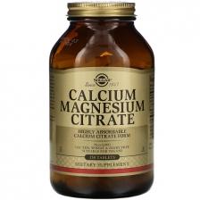 Solgar Calcium Magnesium Citrate 250 tabs