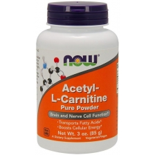 NOW Acetyl L-Carnitine Pure Powder 85 g