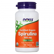 NOW Spirulina 500 mg 100 t