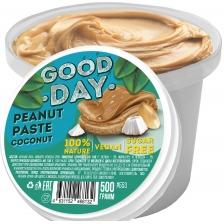 GOOD DAY Арахисовая паста с кокосом 300 гр