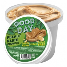 GOOD DAY Арахисовая паста хрустящая 300 гр