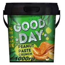 GOOD DAY Арахисовая паста хрустящая 1000 гр