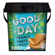GOOD DAY Арахисовая паста с кокосом 1000 гр