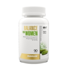 Maxler Balance for Women 90 softgels