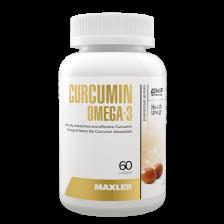 Maxler Curcumin Omega 3 60 caps