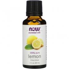 NOW Essential Oil Lemon, Эфирное масло лимона 30 мл
