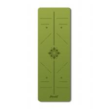 Fitrule Зеленый коврик c разметкой из TPE (Лотус Гармонии)