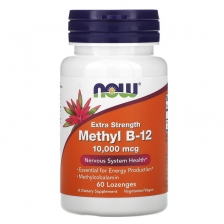 NOW Methyl B-12 10000 mcg 60 caps