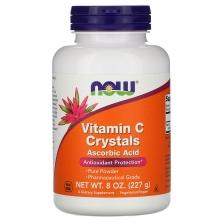 NOW Vitamin C Crystals 227 g