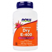 NOW E-400 Natural d-alpha Tocopherol 100 caps