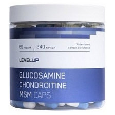 Level Up Chondroitine+Glucosamine+MSM 90 caps