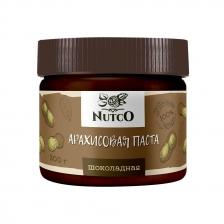 NUTCO Арахисовая паста шоколадная - 300 гр.