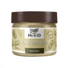 NUTCO Арахисовая паста фитнес - 300 гр.