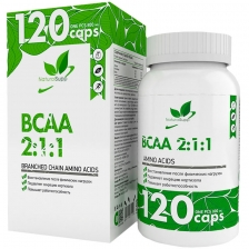 Natural Supp BCAA 2:1:1 (ВСАА 2:1:1 - 800 мг) 120 капс